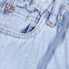 detalle bermuda denim niño de garcia jeans