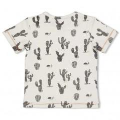 camiseta manga corta bebe cactus feetje por detras