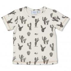 camiseta manga corta bebe cactus feetje