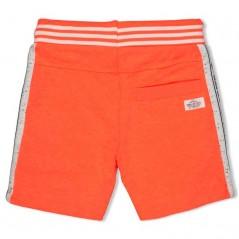 bermuda punto niño de sturdy naranja neon por detras