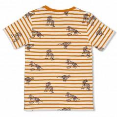 camiseta manga corta niño sturdy de tigres por detras