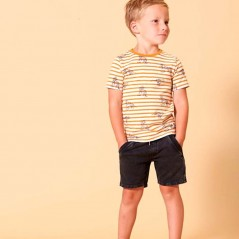 look corto niño con camiseta tigres sturdy