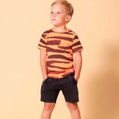 niño con camiseta manga corta naranja neon Sturdy