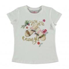 camiseta manga corta niña de bimbalina
