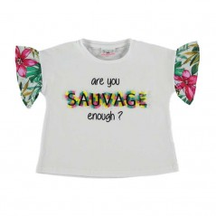 camiseta manga corta niña bimbalina savvage