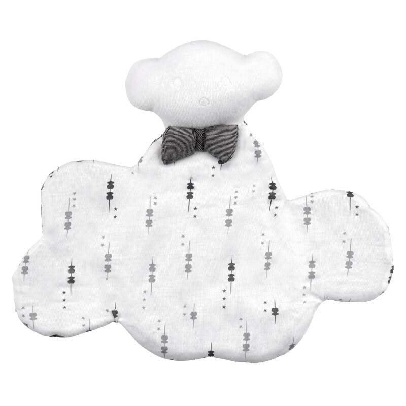 doudou nube bebe tous gris y blanco
