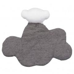 doudou nube bebe tous gris y blanco por detras