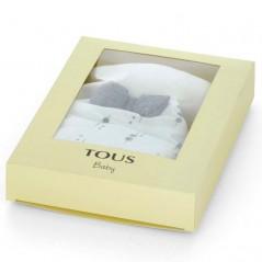 caja regalo doudou nube bebe tous gris y blanco