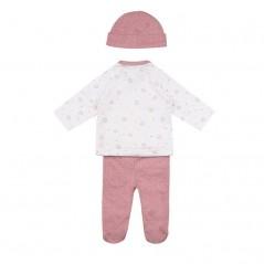 conjunto primera puesta tous chill rosa por detras