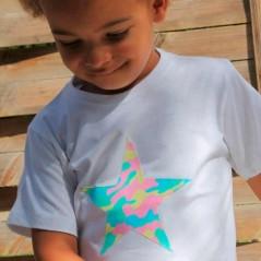 camiseta bebe niño de marena camuflaje