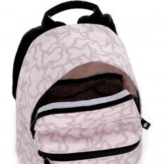 detalle abierto mochila preescolar rosa kaos de tous