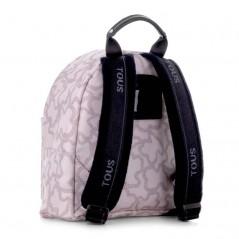 mochila preescolar rosa kaos de tous por detrás