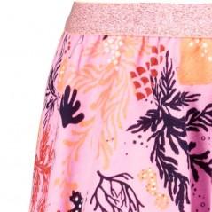 detalle falda niña garcia jeans rosa estampada