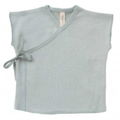 camiseta primera puesta verano lillymom verde mint