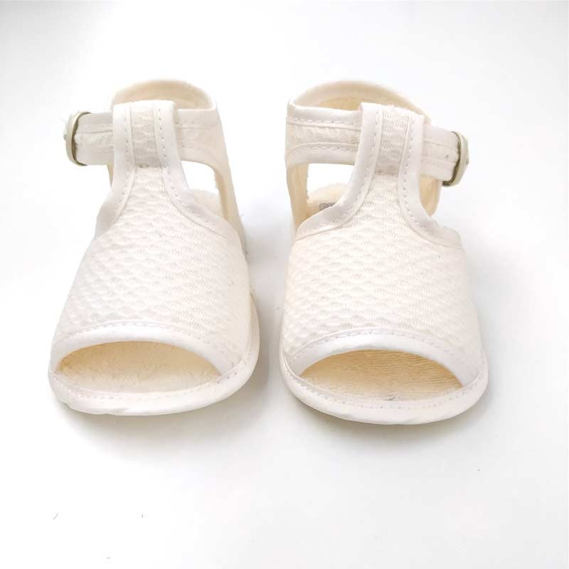 sandalias bebe de vestir beige