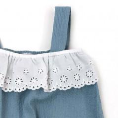 detalle ranita bebé de verano azul de paz rodriguez