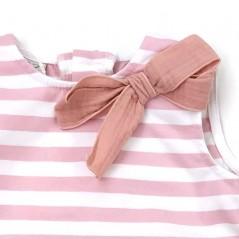 detalle vestido bebe niña verano de paz rodriguez rosa