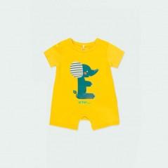 pelele bebe verano amarillo boboli
