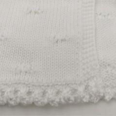 tejido chaqueta bautizo bebe niña blanca de paz rodriguez