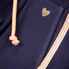 detalle pantalón punto niña corto de garcia jeans