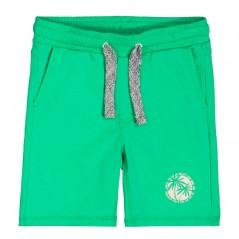 pantalon corto punto niño verde de garcia jeans