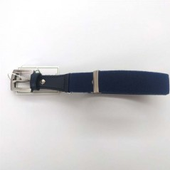 cinturon niño elastico azul navy de vaello abierto