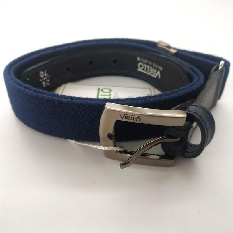 cinturon niño elastico azul navy de vaello