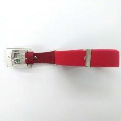 cinturon niño elastico rojo de vaello abierto