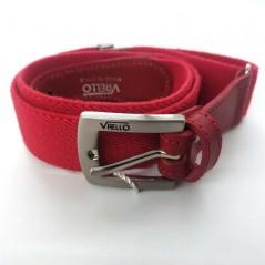 cinturon niño elastico rojo de vaello