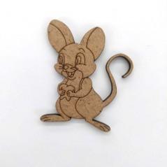 raton perez de madera