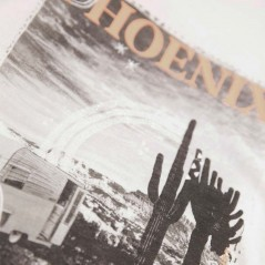 estampado camiseta niña manga corta de garcia jeans blanca
