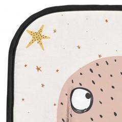 detalle colchoneta recta carro bebe marine crudo de bimbidreams