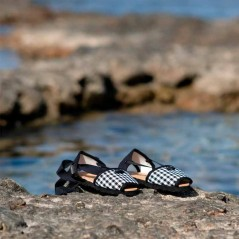 alpargatas caretes vlc shoes cuadro vichy