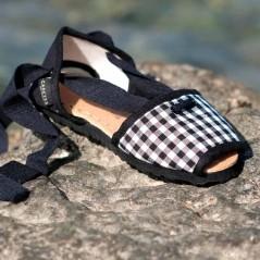alpargatas caretes vlc shoes cuadro vichy para la playa