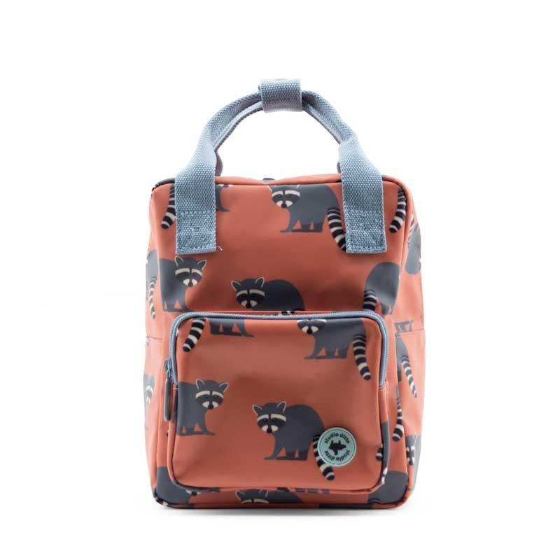 mochila infantil mapaches de studio ditte