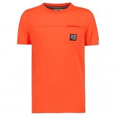 camiseta naranja niño de garcia jeans