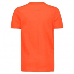 camiseta naranja niño de garcia jeans por detras