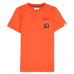 camiseta naranja niño de garcia jeans abierta