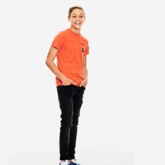 look niño camiseta naranja de garcia jeans