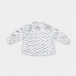 camisa bebe manga larga blanca tutto piccolo_b