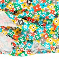 pelele bebe boboli de flores multicolor