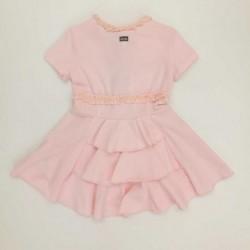 vestido bebe rosa de lechic