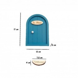 medidas puerta raton perez azul grisaceo