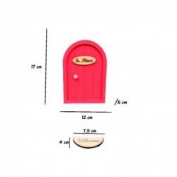 puerta raton perez color fresa