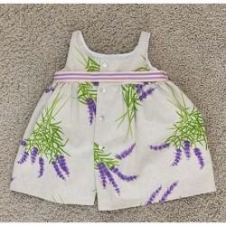 vestido bebe de pilar batanero lavanda