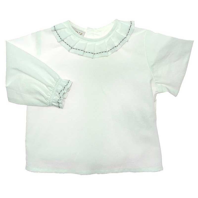 camisa bebe blanca de paz rodriguez