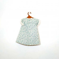 vestido bebe de eve children verde mar