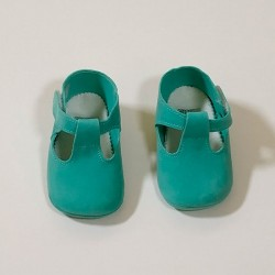 Zapatos bebé piel vuelta...