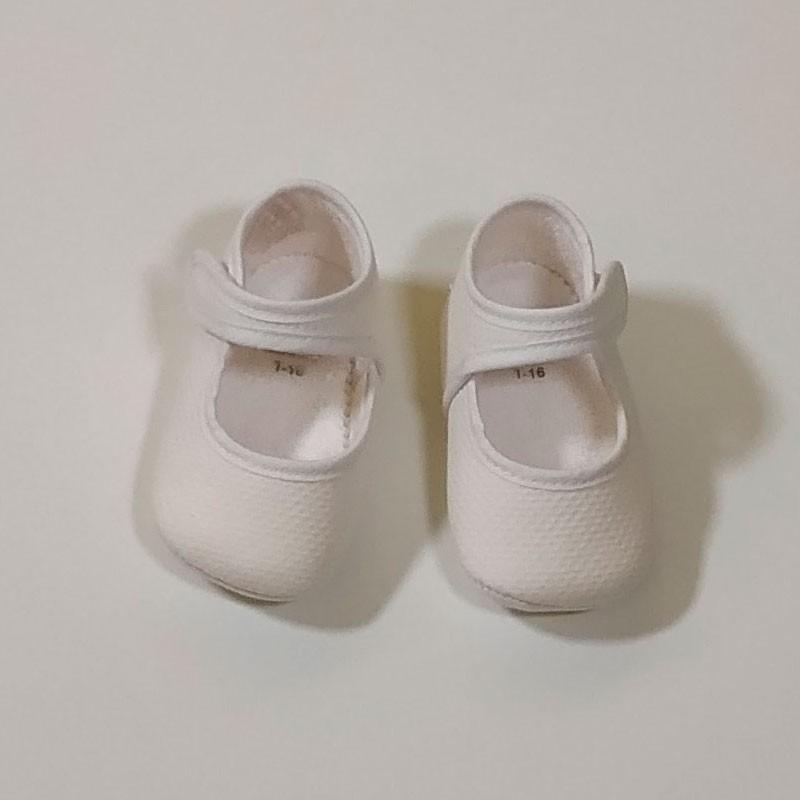 merceditas bebe sin suela blancas de cuquito