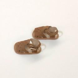 zapato bebé marrón sandalia cuquito